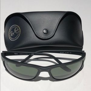 Ray-Ban Mens Black sunglasses RB2027